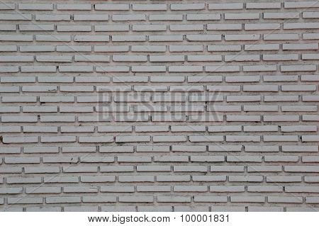 Grey Of Old Brick Wall.