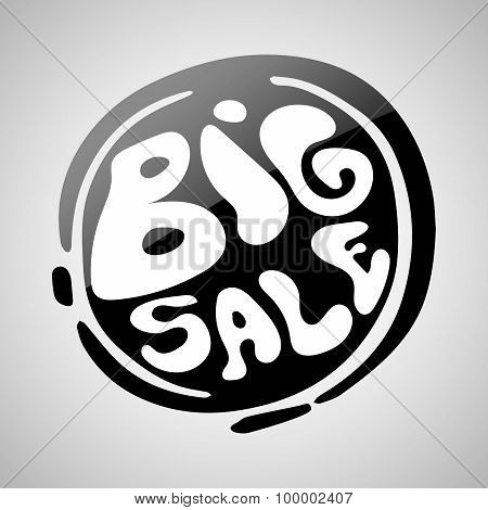 Big Sale Badge Illustration.