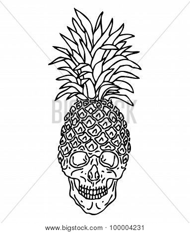 Pineapple scull