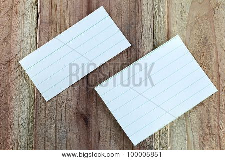 Note Paper.