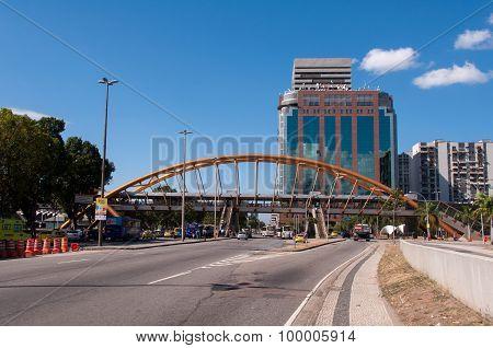 Cidade Nova district view with Presidente Vargas Avenue