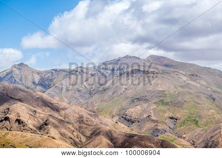 High Atlas mountains, Morocco (view from Tizi-n-Tichka pass)