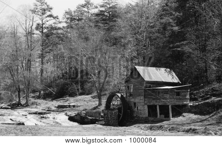Greyscale Grist Mill