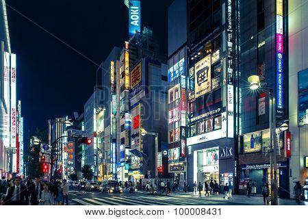 Night in Osaka