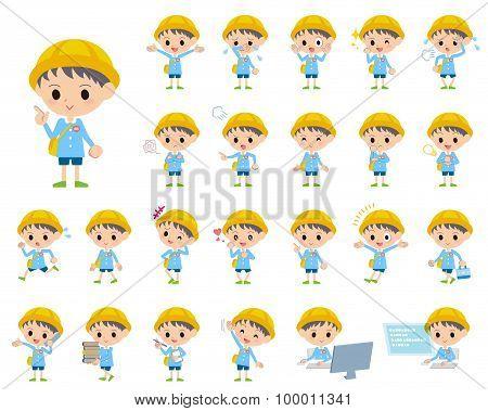 Nursery School Boy