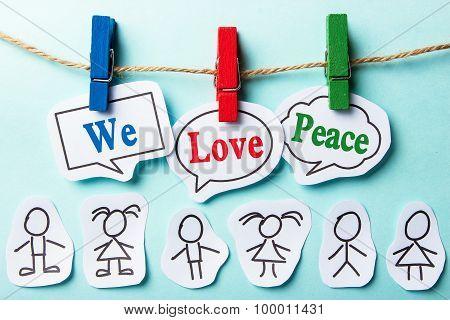 We Love Peace