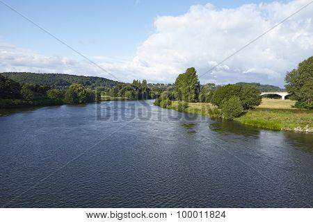 Hattingen (germany) - River Ruhr