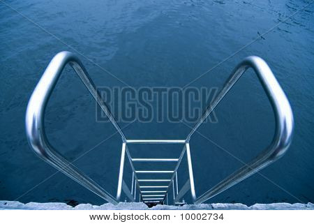 Hand-rails Over Water