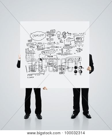 Poster With Business Concept