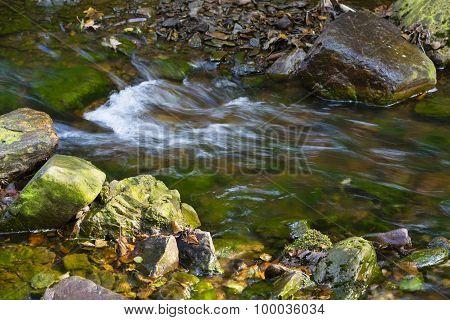 Autumn Creek Rapids Detail, Belgium