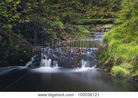 Autumn River Long Exposure, Belgium