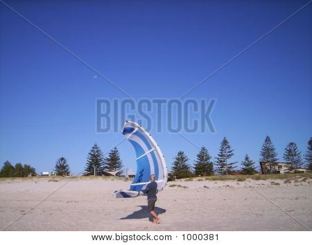 Carrying The Kite