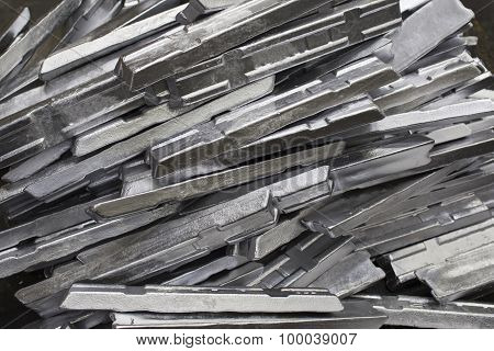 Aluminium Ingot Production In The Factory