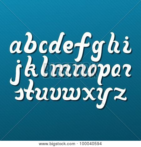 Lowercase Alphabet Letters