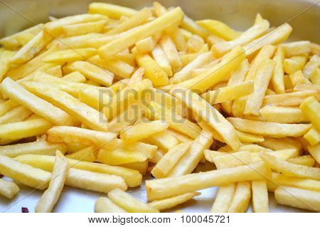 Plate of french fries
