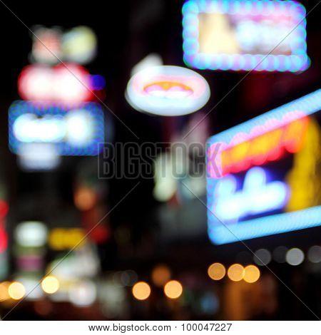 Blur Neon Light