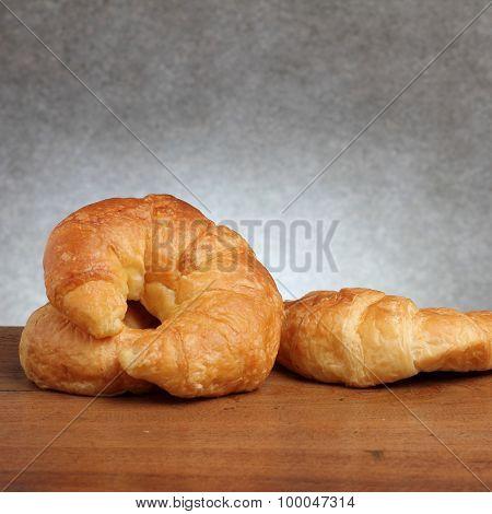 Croissant Bakery On Teakwood