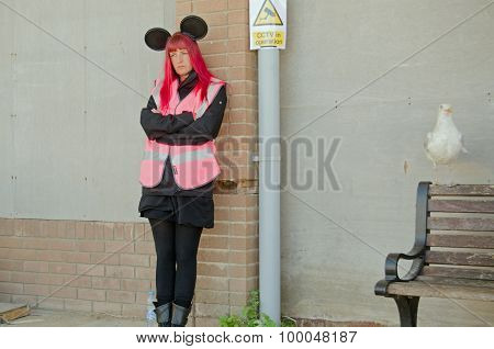 Dismaland Happy Helper