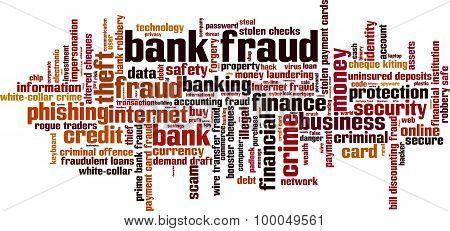 Bank Fraud Word Cloud
