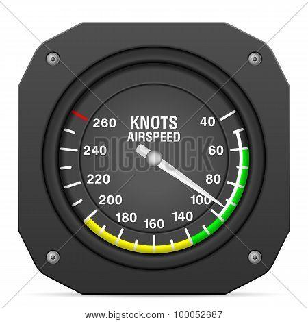 Flight Instrument Airspeed Indicator
