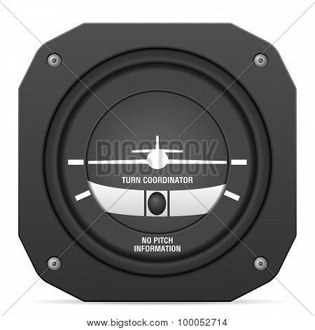 Flight Instrument Turn Coordinator
