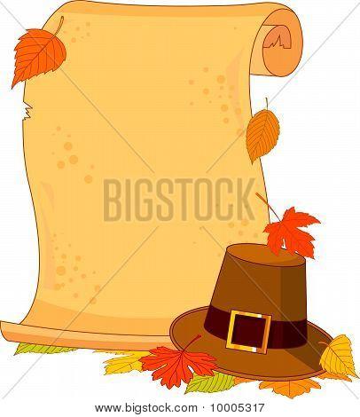 Thanksgiving Scroll
