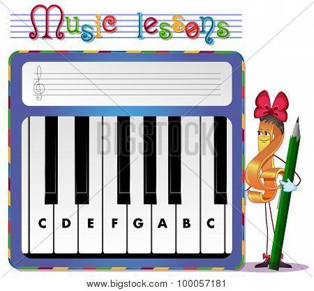 Music lessons exercises for children. development of skills for drawing. Handwriting Practice Worksheets. musical tasks poster