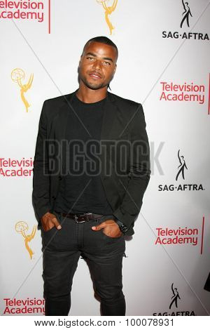 LOS ANGELES - AUG 27:  Redaric Williams at the Dynamic & Diverse Emmy Celebration at the Montage Hotel on August 27, 2015 in Beverly Hills, CA