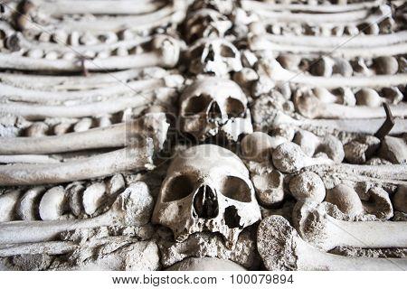 Chapel Of Human Bones Of Campo Maior, Portugal