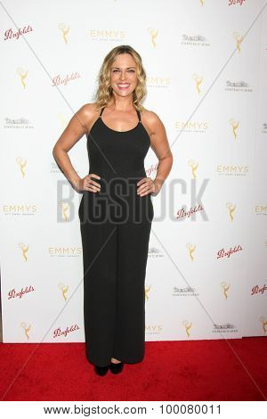 LOS ANGELES - AUG 26:  Kelly Sullivan at the Television Academy's Daytime Programming Peer Group Reception at the Montage Hotel on August 26, 2015 in Beverly Hills, CA