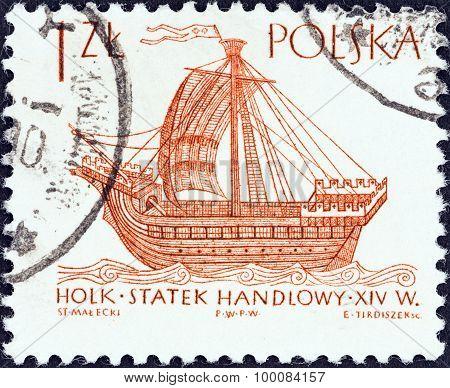 POLAND - CIRCA 1964: A stamp printed in Poland shows Hulk (16th century)