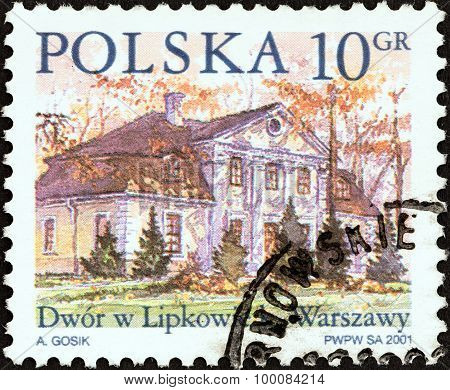 POLAND - CIRCA 2001: A stamp printed in Poland shows Lipkowie, Warsaw