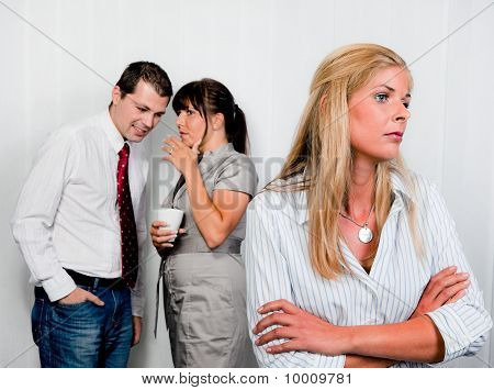 Harassment of an employee at his workplace poster