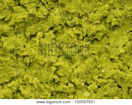 British Mushy Peas Food Background