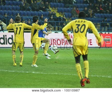 Metalist Kharkiv Vs. Sampdoria Genoa