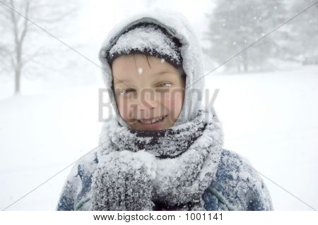 Boy On The Snow