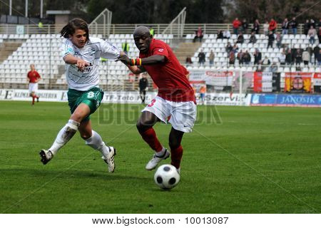 Kaposvar - Honved soccer game