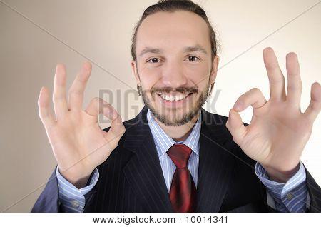 Portrait Of  Business Person