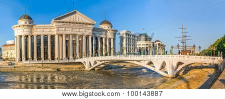 Skopje art Eye Bridge