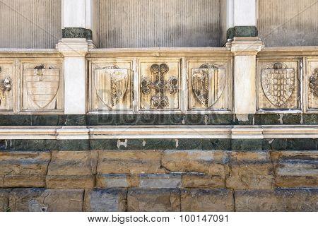 Wall Santa Maria Novelle Close Up