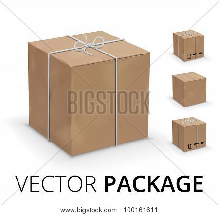 Wraped box