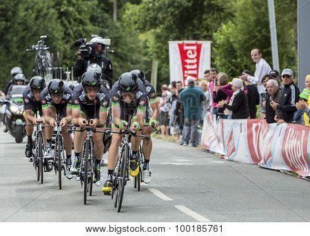 Team Bretagne-seche Environnement - Team Time Trial 2015