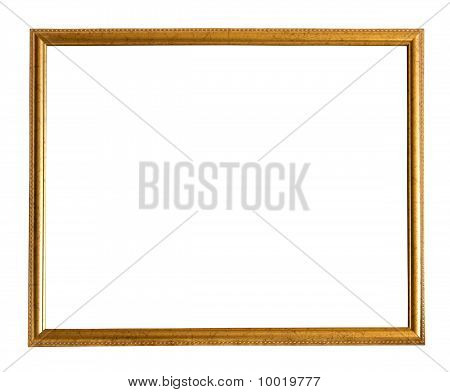 Thin Gold Picture Frame