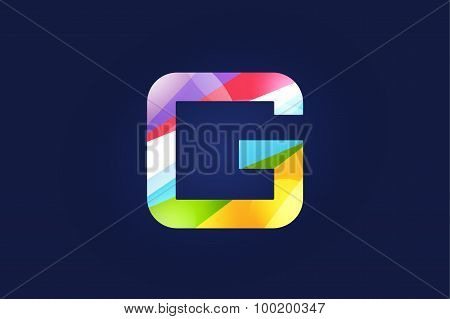 G letter vector logo icon symbol