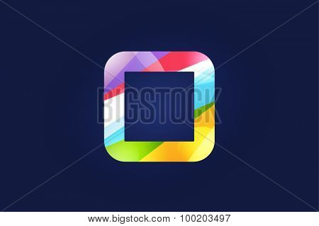O letter vector. O logo icon template. O symbol silhouette. O isolated icon, O line style letter, O logotype, O logotype, O modern symbol, O company name brand.