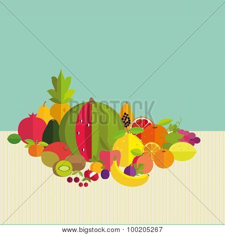 Composition Of Fresh Fruit