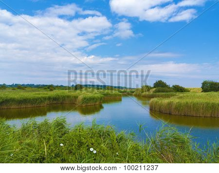 pond in the fen