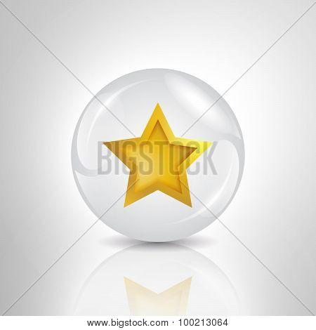 star in bubble illustration