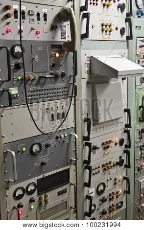 A Titan Missile Museum Control Center Panel