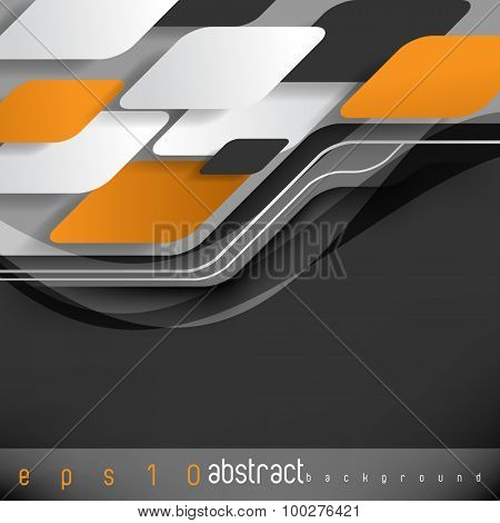 eps10 vector promotional corporate advertisement background elements concept design